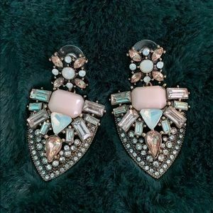 "Jewelry - Dangling ""Beloved Princess"" Earrings"